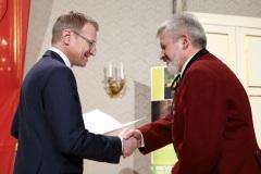Verleihung Konsulent Günther Schädl